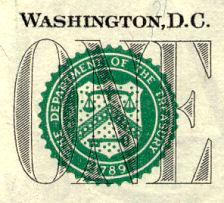 United States Treasury Seal, Siegel der US-Staatskasse